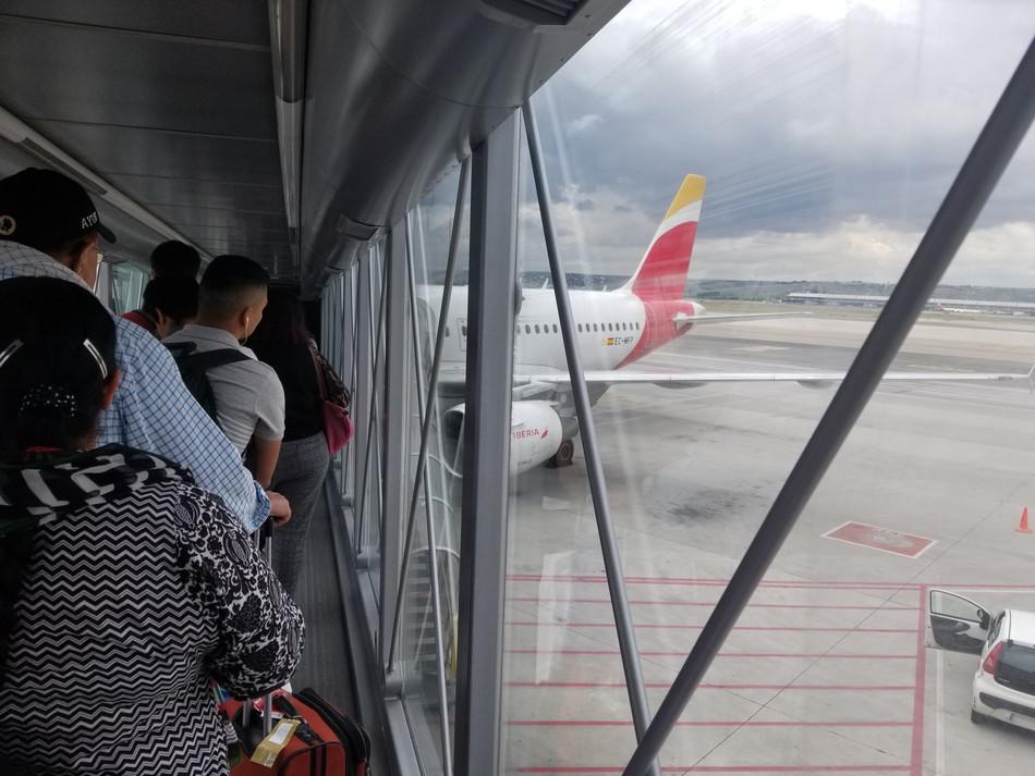 "Iberia A320 Economy MAD-BCN: Convenient Intercity ""Coach"" Transfer"