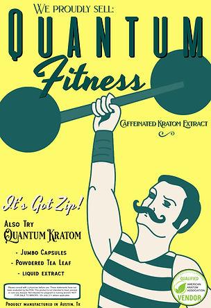Quantum Fitness Poster