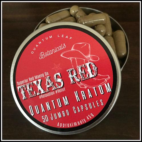 Jumbo Capsule - Texas Red