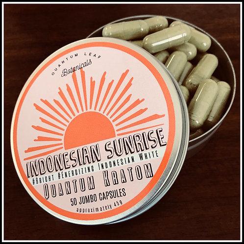 Jumbo Capsule - Indonesian Sunrise