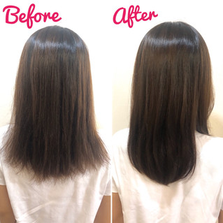 美髪コースの結果