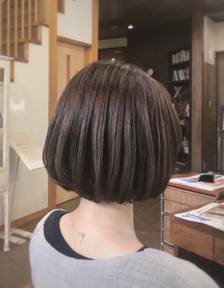 髪質改善トリートメントその後
