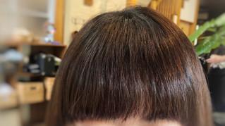✤前髪の縮毛矯正パターン✤