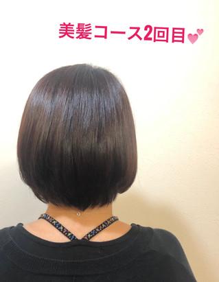 本日の美髪コース