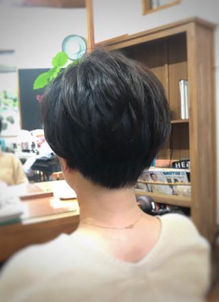 黒田知永子さん風ショート