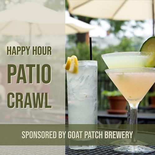Happy Hour Patio Crawl - Sat. May 25th
