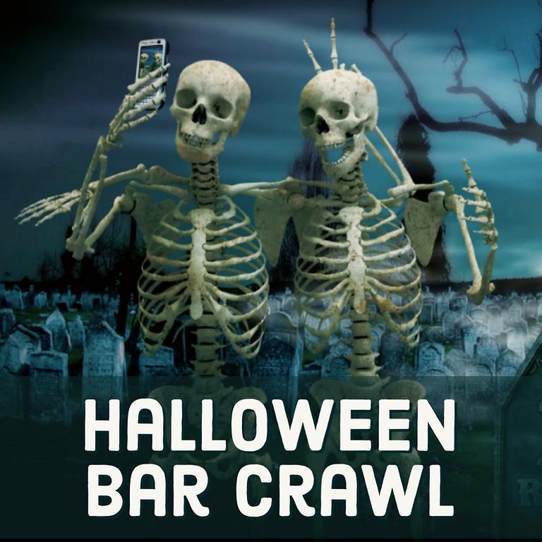 Halloween Costume Contest Bar Crawl - Bus 2