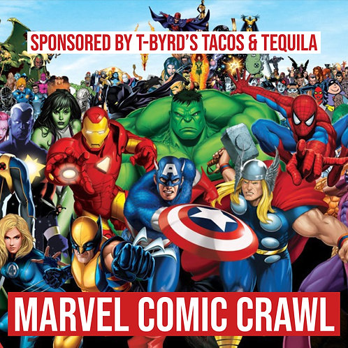 Marvel Comic Dive Bar Crawl - May 18th