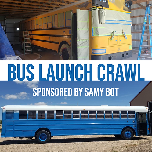 New Party Bus Launch Crawl - Saturday June 29th