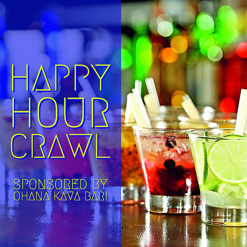 Happy Hour Bar Crawl - Sat. March 23rd
