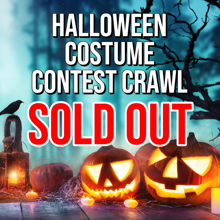 Halloween Costume Contest Bar Crawl - Bus 1