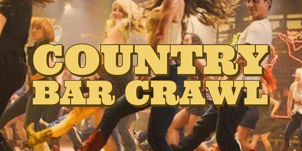 Country Bar Crawl - The Boot Scootin' Bus Crawl!