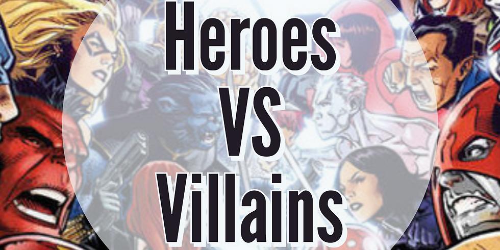 Superheroes VS Villains Bar Crawl  (1)