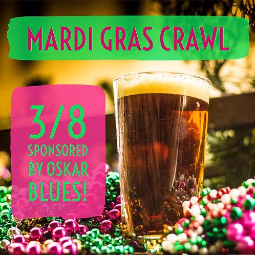 Mardi Gras Crawl - Friday March 8th