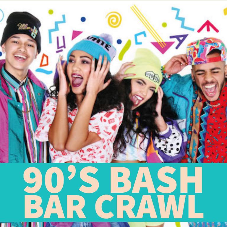 90's Bash Bar Crawl