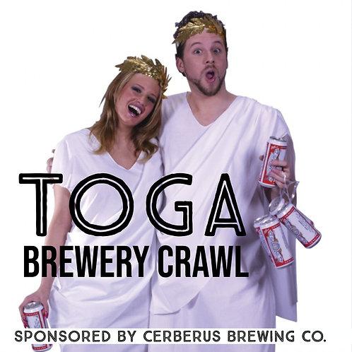 TOGA! Brewery Crawl - Friday May 10th