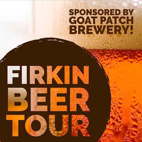 Firkin Beer Tour - Saturday March 9th