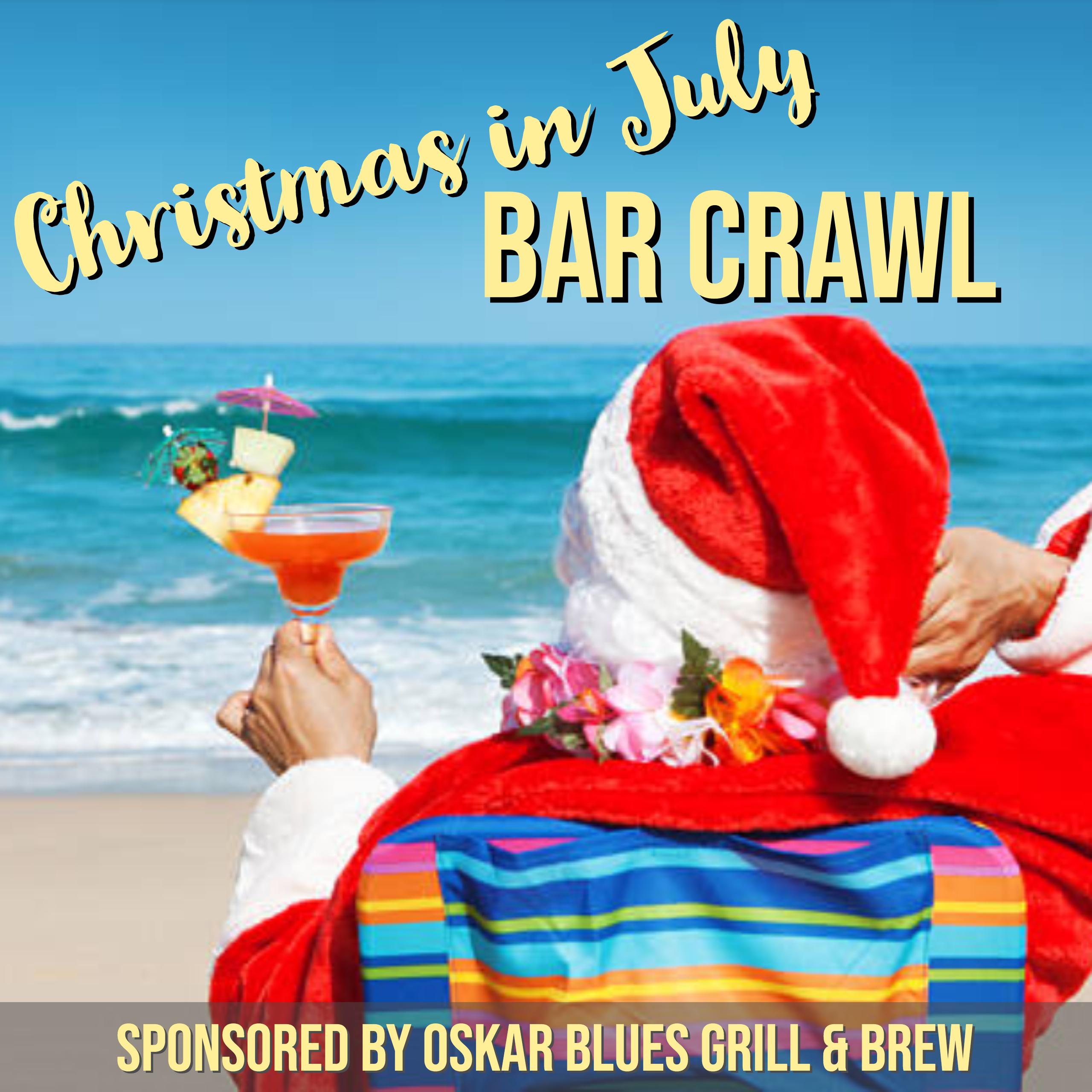 Christmas In July Party.Christmas In July Party Bus Bar Crawl
