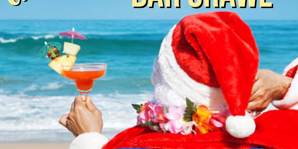 Christmas in July Party Bus Bar Crawl