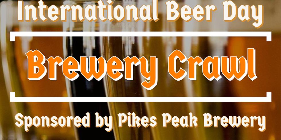 International Beer Day Brewery Crawl