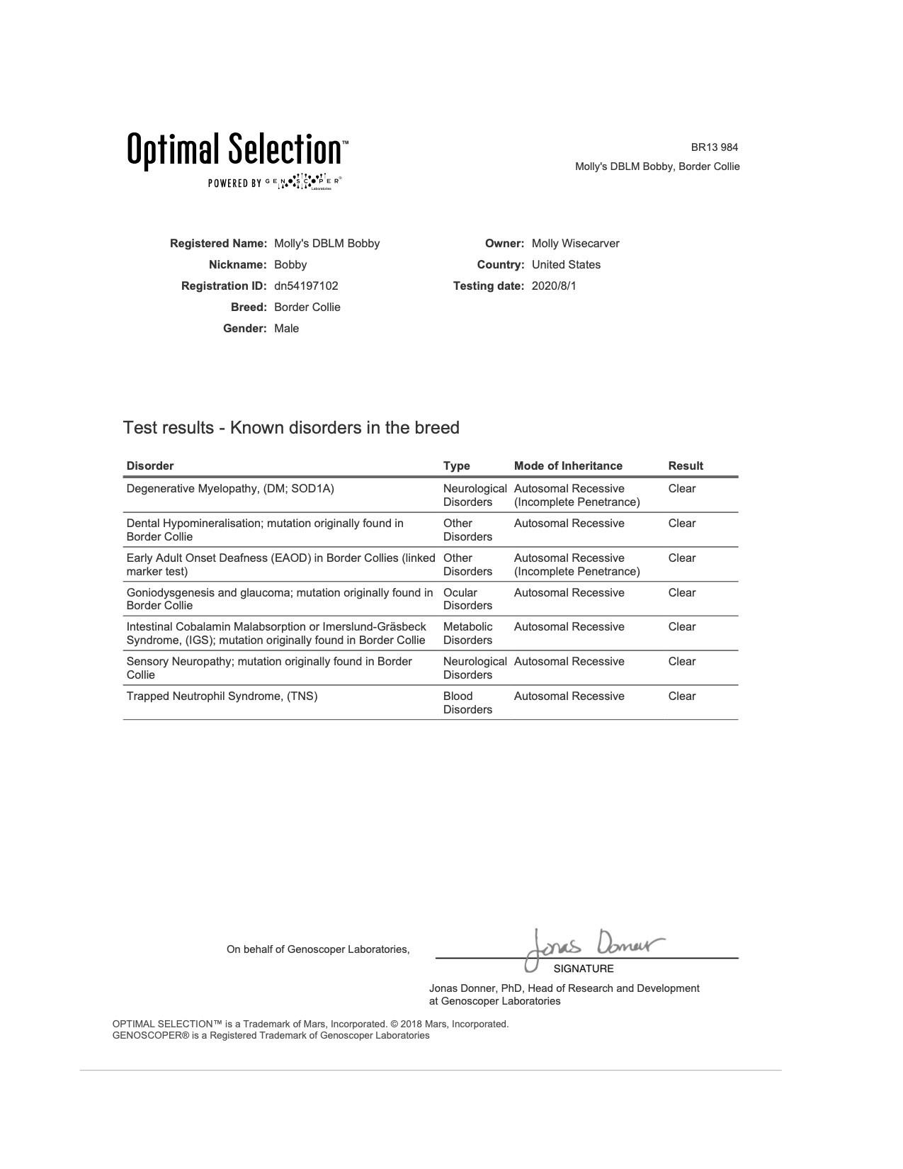 Bobby DNA Testing page 1.jpg
