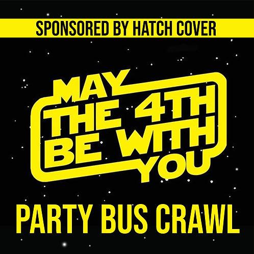 Star Wars Party Bus Crawl - May 4th