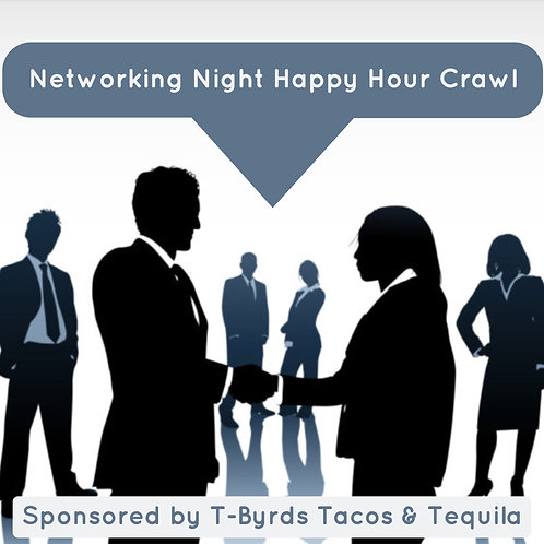 Networking Night Happy Hour Crawl- April 17th