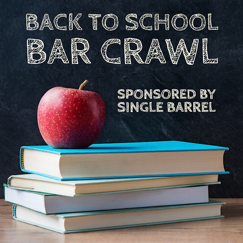Back To School Party Bus Bar Crawl - Fri. Aug 9th