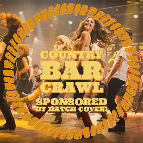 Country Bar Crawl - Friends In Low Places - March 2nd