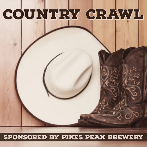Country Bar Crawl - Friends In Low Places - Saturday June 15th