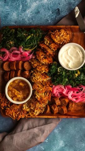 A Latke Platter Fit For a Feast