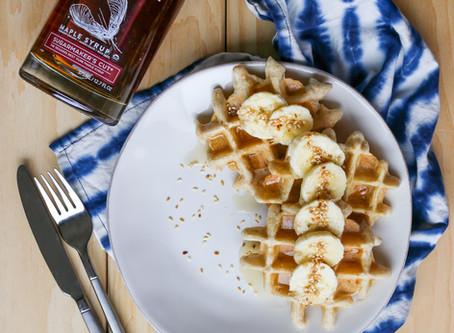 Trifecta Sesame Seed Waffles