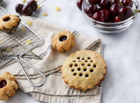 Mini Cherry Maple Ginger Pies