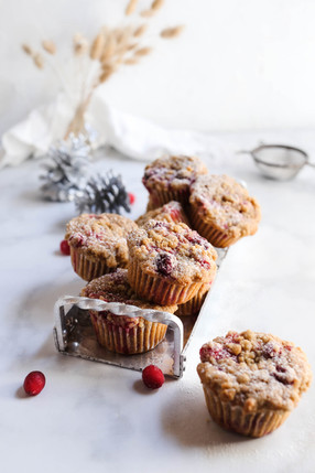 Cranberry Spiced Muffins