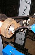 Автоматическая установка для наплавки внутренних и наружных поверхностей