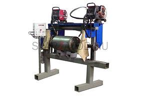 Автоматическая установка для сварки воздушных баллонов (ресиверов