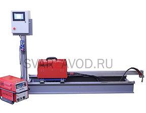 Установка автоматической сварки корневого шва обечайки