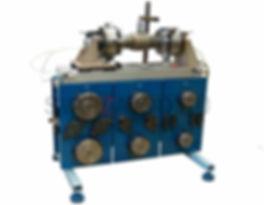 Установка для сборки и прихватки корпуса шаровых кранов с фланцами