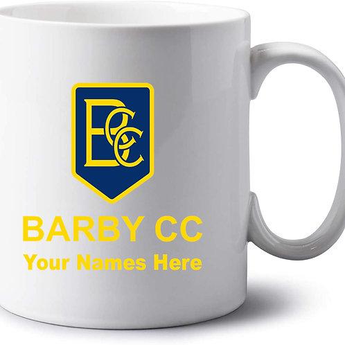 Mug (inc name) White - Barby