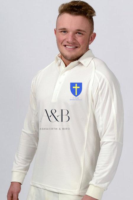 Long Sleeve Cricket Shirt   H2