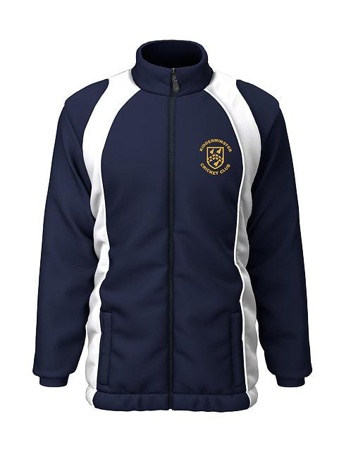 Rain Jacket (H355) Navy/White - Kidderminster CC