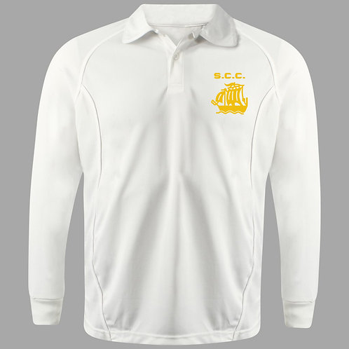 Cricket Shirt Long Sleeve - Stour (H2)