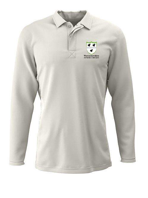 Cricket Shirt L/S (H2) Worcs Seniors