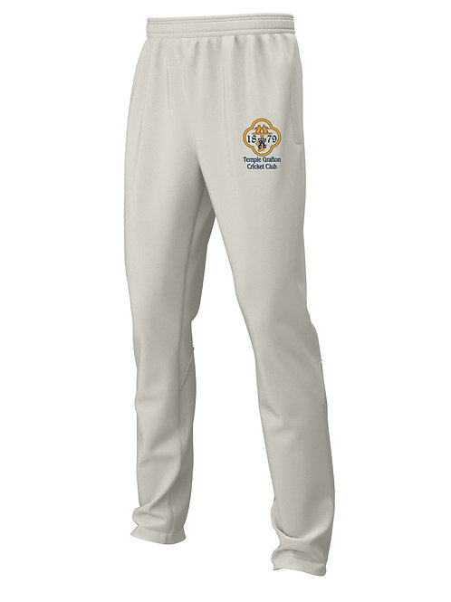 Cricket Trousers (H3) Cream - Temple Grafton CC