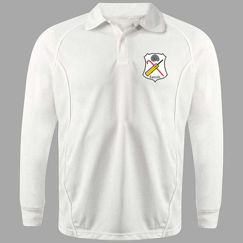 Cricket Shirt Long Sleeve (H2) Fossils