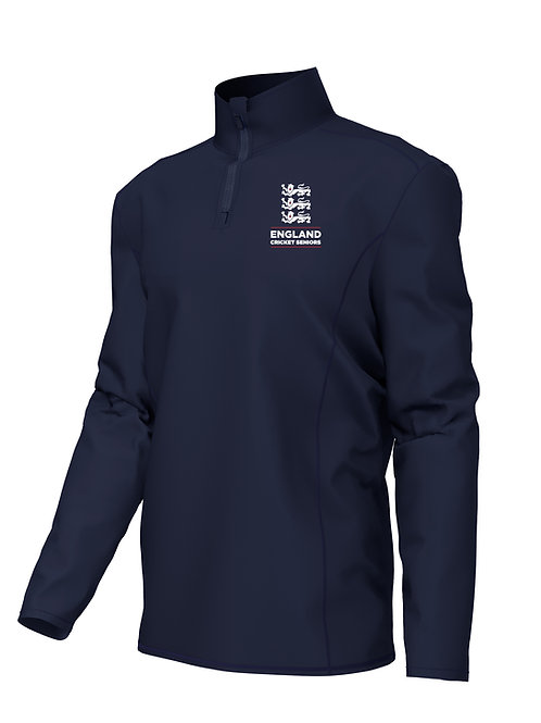 Midlayer 1/4 Zip (H790) Navy - England