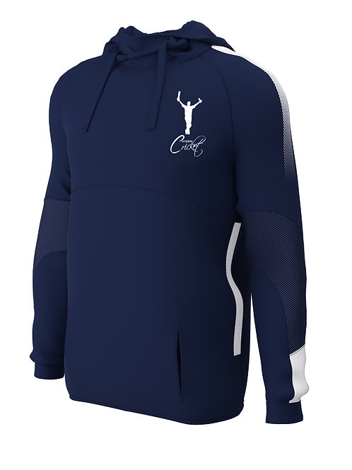 Hoodie  (E874) Navy/White - Complete Cricket