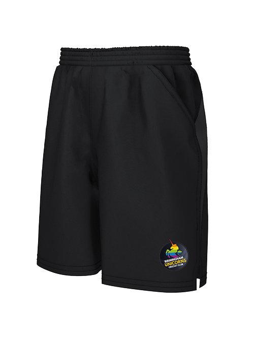 Shorts (671) Black - Birmingham Unicorns CC