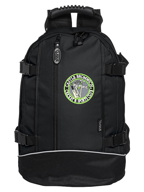 Backpack (040207) Black - Castle Bromwich CC