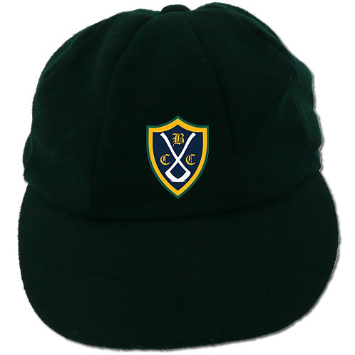 Traditional Cricket Cap - Green - Belbroughton